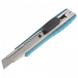 Нож 160 мм, метал.корпус, выдв.сегм.лезвие 18 мм(SK-5), метал.напр-щая, клипса для ремня Gross 78897