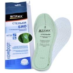 Стельки д/обуви Штрих Комфорт антибактериальные 91352328/91523328