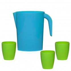 Набор Кувшин 1,75л+3 стакана 250мл SparkPlast пластик IS10309