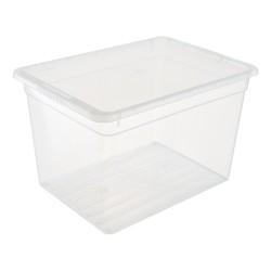 Ящик для хранения 20л Basic Funbox с крышкой FB1071