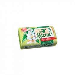 Мыло туалетное 90г Весна жасмин и зеленый чай 6084