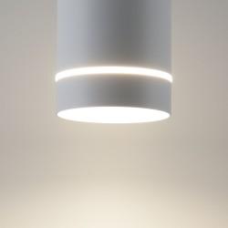Светильник DLR021 светодиодный  белый матовый  9W 4200K