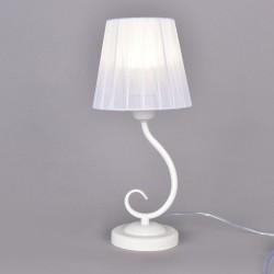 Лампа настольная РОССвет РС20916 WT/1T Белый Е27 1х60Вт IP20