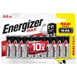Батарейка АА алкалиновая Energizer MAX maxi pack, 16шт