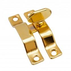 Завертка форточная Trodos, цвет золото