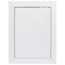 Люк-дверца 200*300мм фланец, пластик, рамка 218*318мм, нажимной, Л2030, ERA