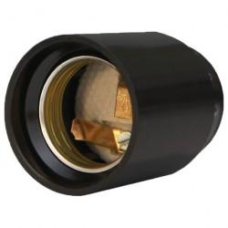 Патрон E27 карболит черный, подвесной М12, UNIVERSAL, 5560725