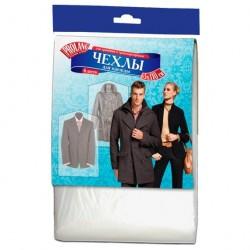 Чехол для одежды AK PROLANG 65*110см прозрачные /6шт/