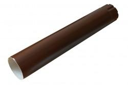 Труба водосточная, цвет шоколадно-коричневый RAL 8017, d-100 мм х 3 м