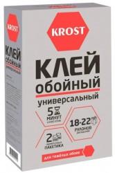 Клей для обоев KROST универсальный 18-22 рулона 500г