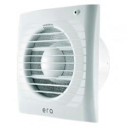 Вентилятор вытяжной осевой накладной 100мм ERA 4S-02 белый, c моск.сеткой и тягов.выкл, ЭРА