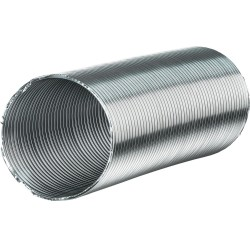 Канал-воздуховод гибкий гофрир. 80мм, алюминиевый до 3м, Вентс