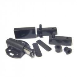 Комплект для 1 стекл двери с лифтом черный (1 шт) - пакет Tech-Krep