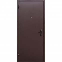 Дверь входная Стройгост 5 РФ 2050х860мм левая, Рустикальный дуб