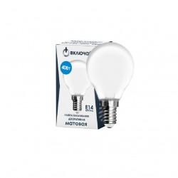 Лампа накаливания Включай 9969231 Е14 Шар 40Вт 4000К матовая