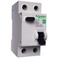 Выключатель автомат. диф. (АВДТ) 1П+Н 16А 30мА C AC, Schneider Electric EASY 9, EZ9D34616