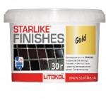 Добавка для затирок LITOKOL STARLIKE FINISHES GOLD золотая, 0,03 кг
