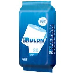 Бумага туалетная Mon Rulon влажная 80шт