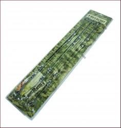 Набор шампуров 6шт 60см плоские, в блистере BOYSCOUT 61328