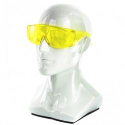 Очки защитные с дужками, желтые СИБРТЕХ 89157