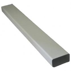 Канал плоский ПВХ 60*204мм, 1,5м, 8015, Вентс