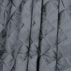 Портьера Габи 103807 2х2,9м жаккард серый на крючках