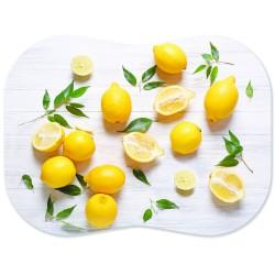 Мат разделочный 30х40см Лимоны