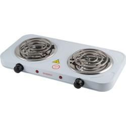 Плитка электрическая Energy EN 904-2-2.0 кВт/220 (2 конфорки) корпус белый