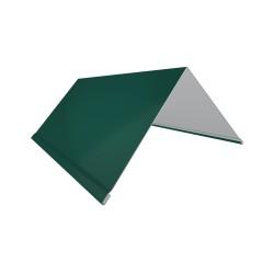 Планка торцевая, цвет зеленый, 80 х 100 х 2000 мм