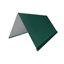 Конек, цвет зеленый, 200 х 200 х 2000 мм