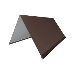Конек, цвет коричневый, 200 х 200 х 2000 мм
