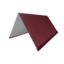 Конек, цвет красный, 200 х 200 х 2000 мм