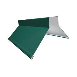 Конек фигурный, цвет зеленый, 130 x 130 x 2000 мм