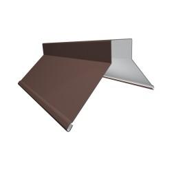 Конек фигурный, цвет коричневый, 130 x 130 x 2000 мм