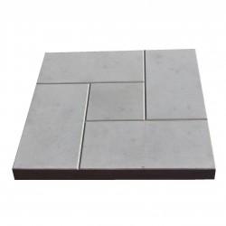 Плитка тротуарная Калифорния цвет серый, 3 х 30 х 30 см