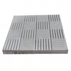 Плитка тротуарная Сетка цвет серый, 3 х 30 х 30 см