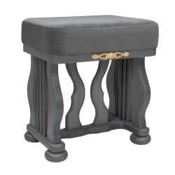 Банкетка МИ Джульетта Серый ясень ткань Verona Antrazite Grey 0015-2819
