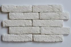 Камень интерьерный Кирпич романский белый