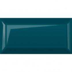 Плитка настенная Metrotiles 10х20 синий глянец 46М06