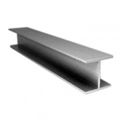 Двутавр алюминиевый, 25 х 8 х 25 х 1,5 мм, длина 1 м