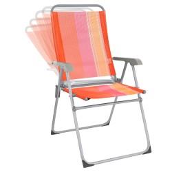 Кресло ORANGE 5 положений, алюминиевый каркас, 67*59*100см, 2,75кг BOYSCOUT