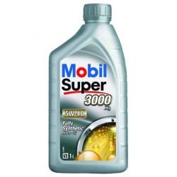 Масло моторное 5W40 1л синтетическое 3000х1 Mobil Super
