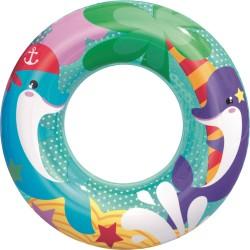 Круг надувной для плавания Морские приключения 51см, 36113 Bestway