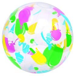 Мяч надувной пляжный дизайнерский 51см, 31036 Bestway