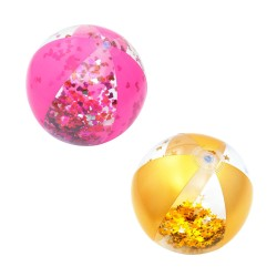 Мяч надувной для пляжных видов спорта Glitter Fusion 41см, 31050 Bestway
