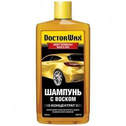 Автошампунь 600мл с воском (концентрат) Doctor WAX DW8133