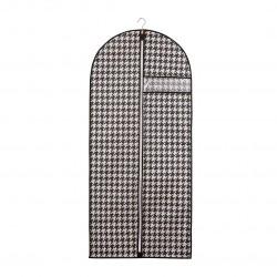 "Чехол для одежды 1350*600 ""Пепита"" Handy Home черно-белый UC-43"