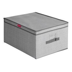 Короб для хранения 40*50*25см Мастер Хаус складной с крышкой,ручкой и кармашком 60636