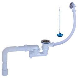 Сифон Орио для ванны с гибкой трубой  А-80089