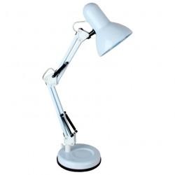 Светильник настольный Camelion KD-313  С01 белый 60Вт Е27